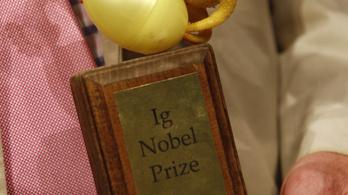 Itt van az idei Ig Nobel-díjak teljes listája, van, amelyik valódit érhet