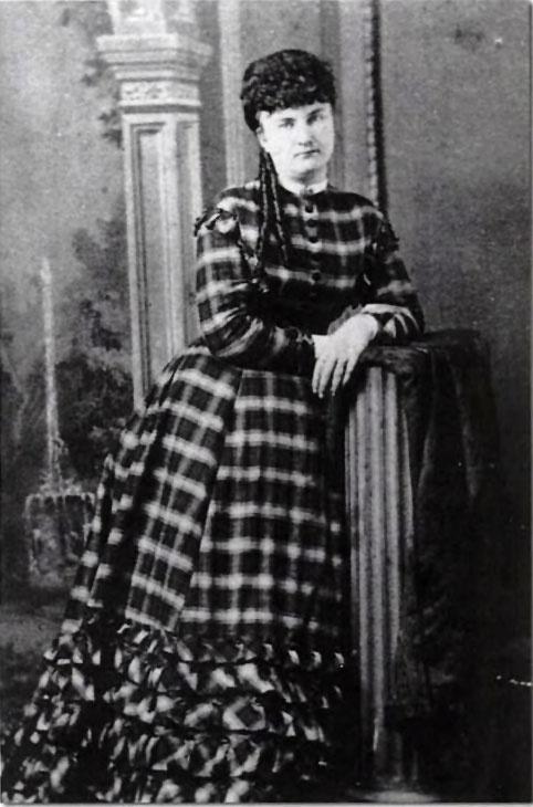"""Celia Ann """"Mattie"""" Blaylock, híres szalonlány, a híres vadnyugati békebíró, Wyatt Earp társa."""