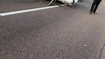 Újabb baleset az M3-as autópályán