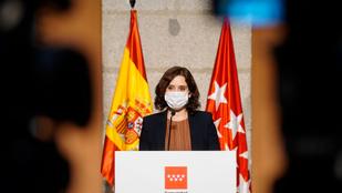 Kijárási korlátozást vezet be a madridi autonóm tartományban