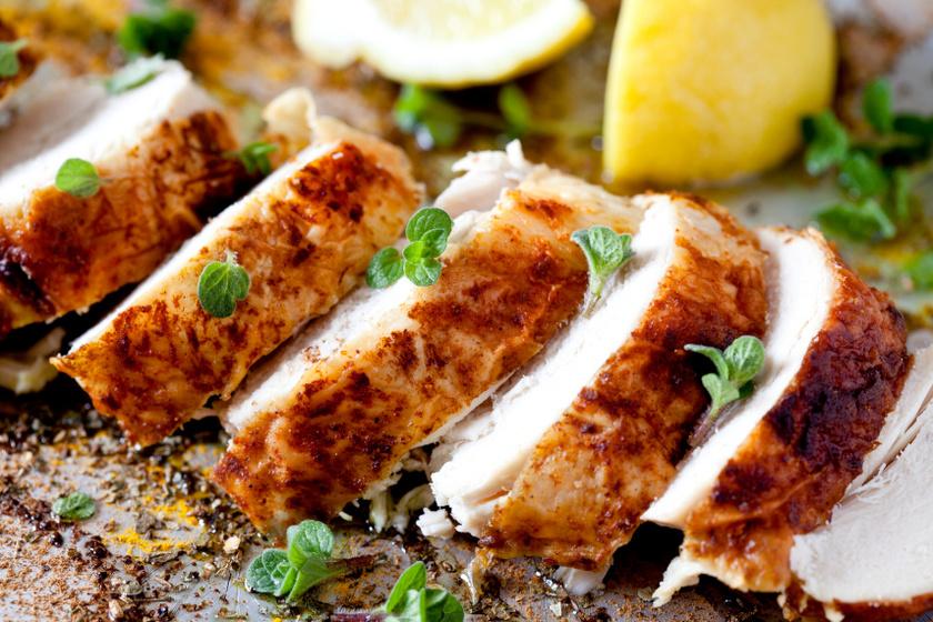 olívaolajban citromban pácolt csirkemell recept