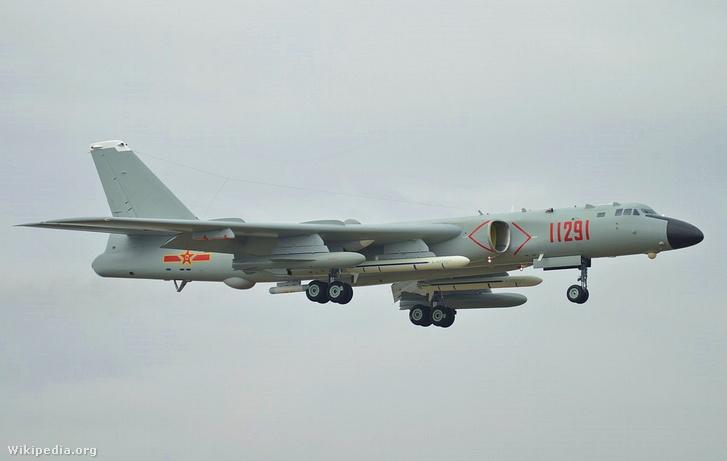 H-6 bombázó