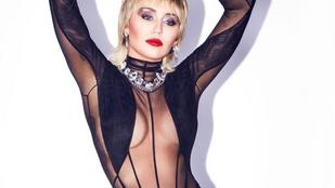 Miley Cyrus áttetsző dresszt, Victoria Beckham mellbimbót posztolt