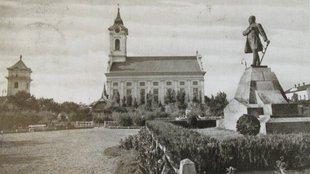 A békéscsabai Kossuth-szobor története