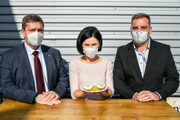 Tóth Bertalan, Kunhalmi Ágnes és Harangozó Tamás