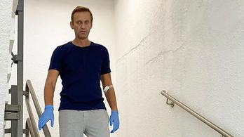 Navalnij a berlini kórházból jelentkezett az Instán