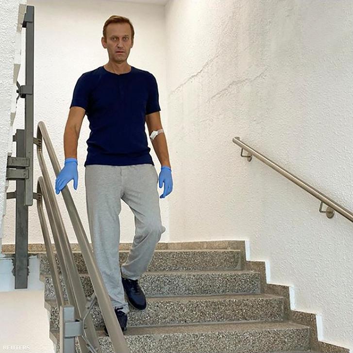 Index - Külföld - Navalnij a berlini kórházból jelentkezett az Instán