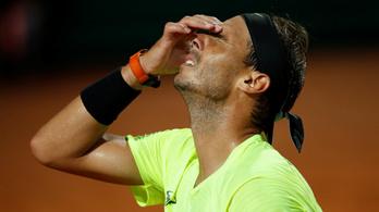 Nadal kiesett a római tenisztornán