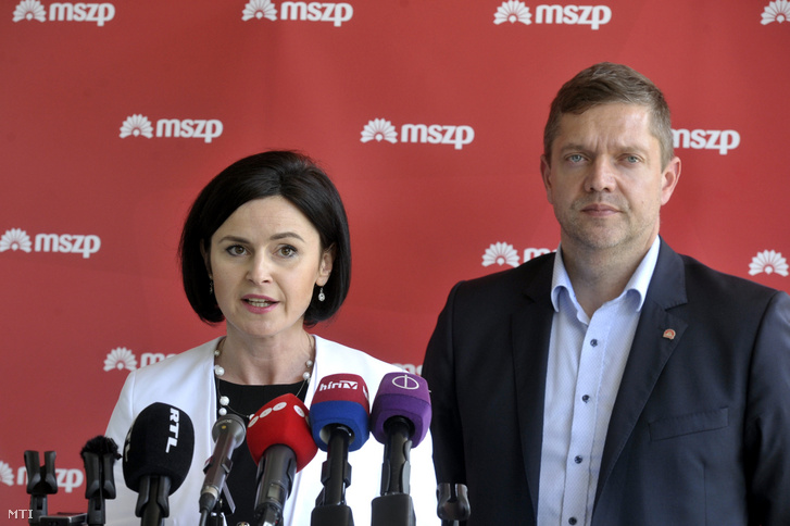 Kunhalmi Ágnes és Tóth Bertalan 2019-ben