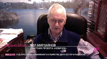 Bocsánatot kért Navalnijtól a novicsok feltalálója