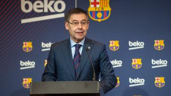 A Barcelona elnökének lemondását követelik a szurkolók
