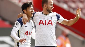 Szon és Kane történelmet írt, a dél-koreai négy gólt rúgott