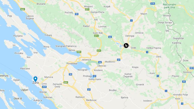Rengett a föld Horvátországban