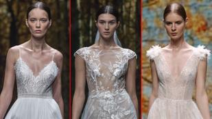 Íme a barcelonai esküvői divathét legmerészebb menyasszonyi ruhái