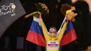 Pogacar történelmet írt, ő a második legfiatalabb győztes a Touron