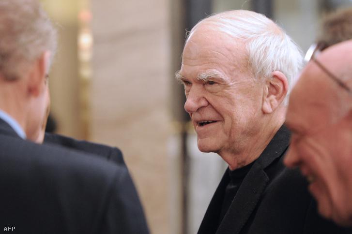 Milan Kundera 2010-ben Párizsban