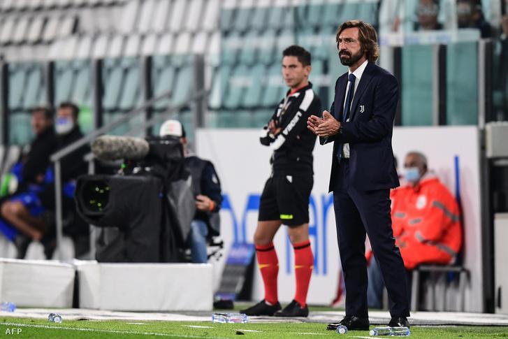 Még szokni kell: Andrea Pirlo vezetőedzőként a Juventus kispadján