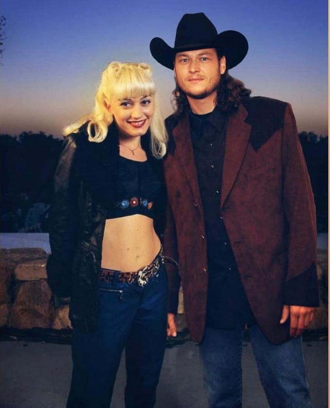 Az énekesnő, aki 2002 és 2015 volt Rossdale  párja, ezt a képet töltötte fel közösségi oldalára