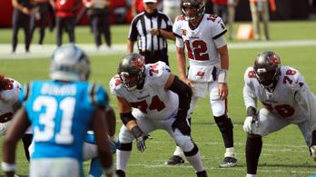Hosszabbításban tudott nyerni az NFL-címvédő, Brady először győzött a Tampával