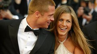 Brad Pitt és Jennifer Aniston közös munkája hamar online flörtölésbe ment át