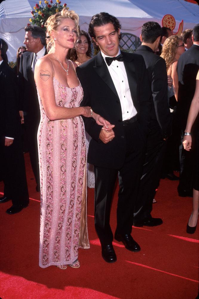 Melanie Griffith férjével, Antonio Banderasszal érkezett az eseményre