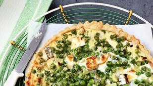 Legalább kétféle sajttal érdemes készítened ezt a zöldséges pitét
