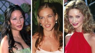 Ők voltak a 20 évvel ezelőtti Emmy vörös szőnyeges sztárjai