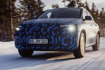 Jövőre csúszik a Mercedes kisebb villanyautójának bemutatója