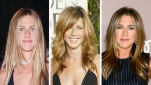 Látta már Jennifer Anistont nem fekete ruhában a vörös szőnyegen?
