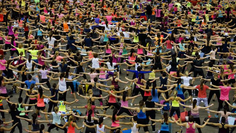 Fitnesszbulit szervez az Arénában a Sarka Kata–Gaál Cecília érdekeltségébe tartozó Fitbalance