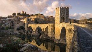 Girona legszebb középkori hangulatú városai