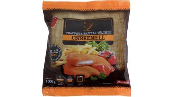 Baj van az Auchan egyik csirkemellével