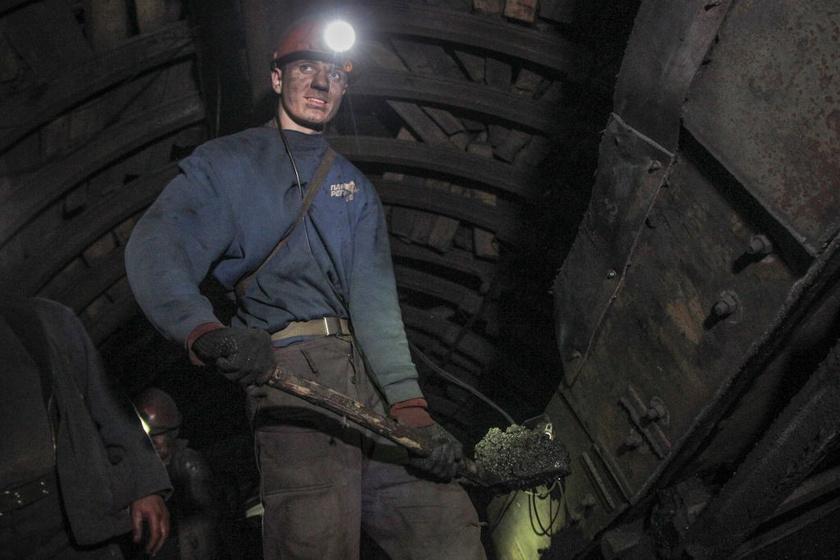 Ukrajna, Nikanor-Novaya szénbánya.