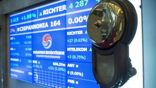 BÉT: több mint hét százalékkal zuhant az OTP-részvények árfolyama