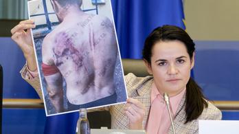 Tyihanovszkaja listát vezet a Lukasenko-rezsim támogatóiról, szankciókra szólítja fel az EU-t