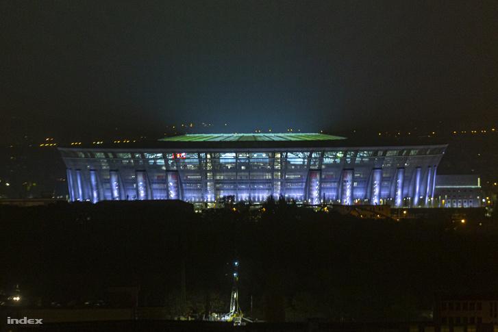 A Szuperkupa mérkőzés helyszíne, a Puskás Ferenc Aréna