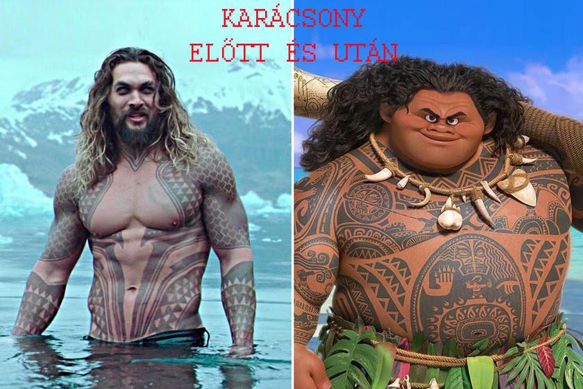 Neked is ismerős? Ünnepek előtt még Aquaman, utána már inkább Maui a Vainából.