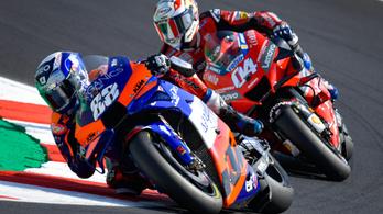 Egy munkanélküli vezeti a MotoGP-t