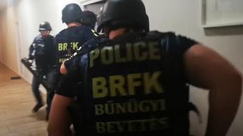 Kokainelosztókra csaptak le a rendőrök