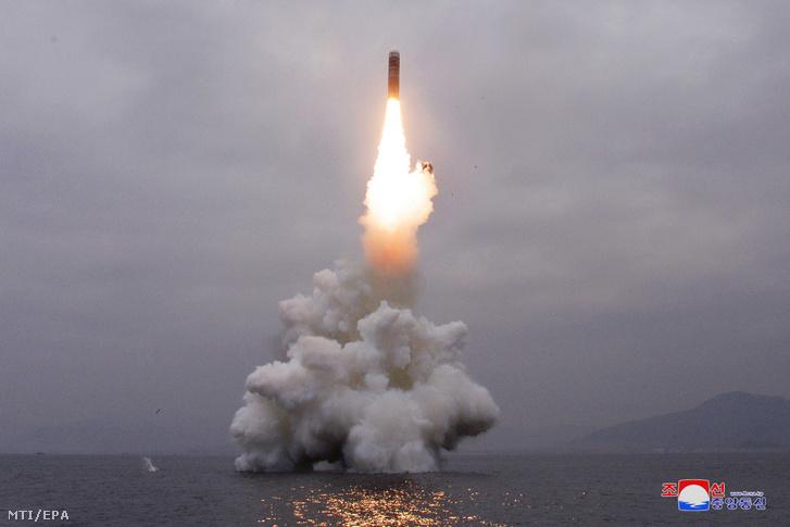 Észak-koreai rakétakísérlet 2019. október 3-án