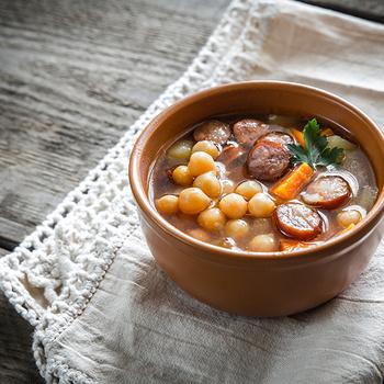 30 perces csicseriborsó-leves: olyan laktató, hogy utána órákig nem akarsz majd enni