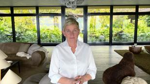 A vádak után elkenős monológgal folytatódott Ellen DeGeneres műsora