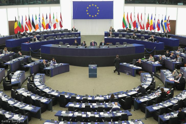 Európai Parlament egyik ülése 2016-ban