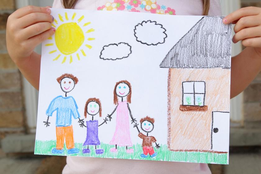 Hogyan rajzolja le a házat a gyerek? Megtudhatod, mi zajlik a lelkében valójában