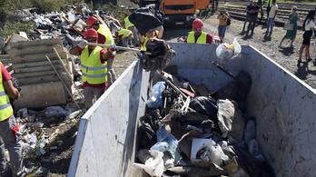 Elindult az illegális hulladék felszámolására indított program kistelepülési szakasza