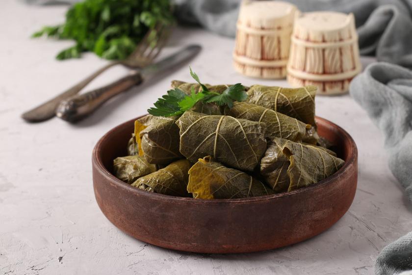 A régi jó töltike: a darált hússal töltött szőlőlevél bevált receptje