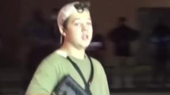 Eddig nem látott felvételek kerültek elő az önbíráskodással vádolt lövöldözőről