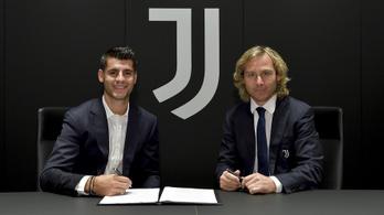 Álvaro Morata visszatért a Juventushoz – hivatalos