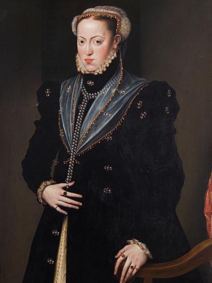 II. Lajos felesége, 1527-ben egy kis ideig Magyarország régense: ki látható a képen?