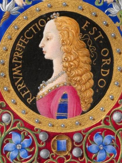 Melyik 15-16. századi magyar királyné látható a képen?